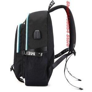 Image 4 - Roblox backpacks for school multifunction USB charging for Kids Boys Children teenagers Men School Bags travel Laptop mochilas