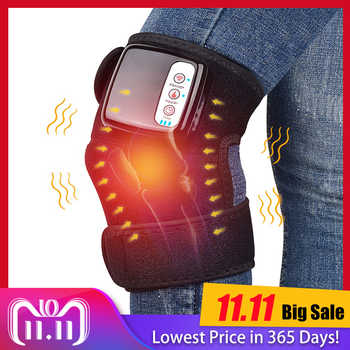 Knee Heat Massager Protable Knee Wrap Massager for Joint Pain Relief Physical Treatment Cordless & Rechargeable Health Care - DISCOUNT ITEM  40% OFF All Category