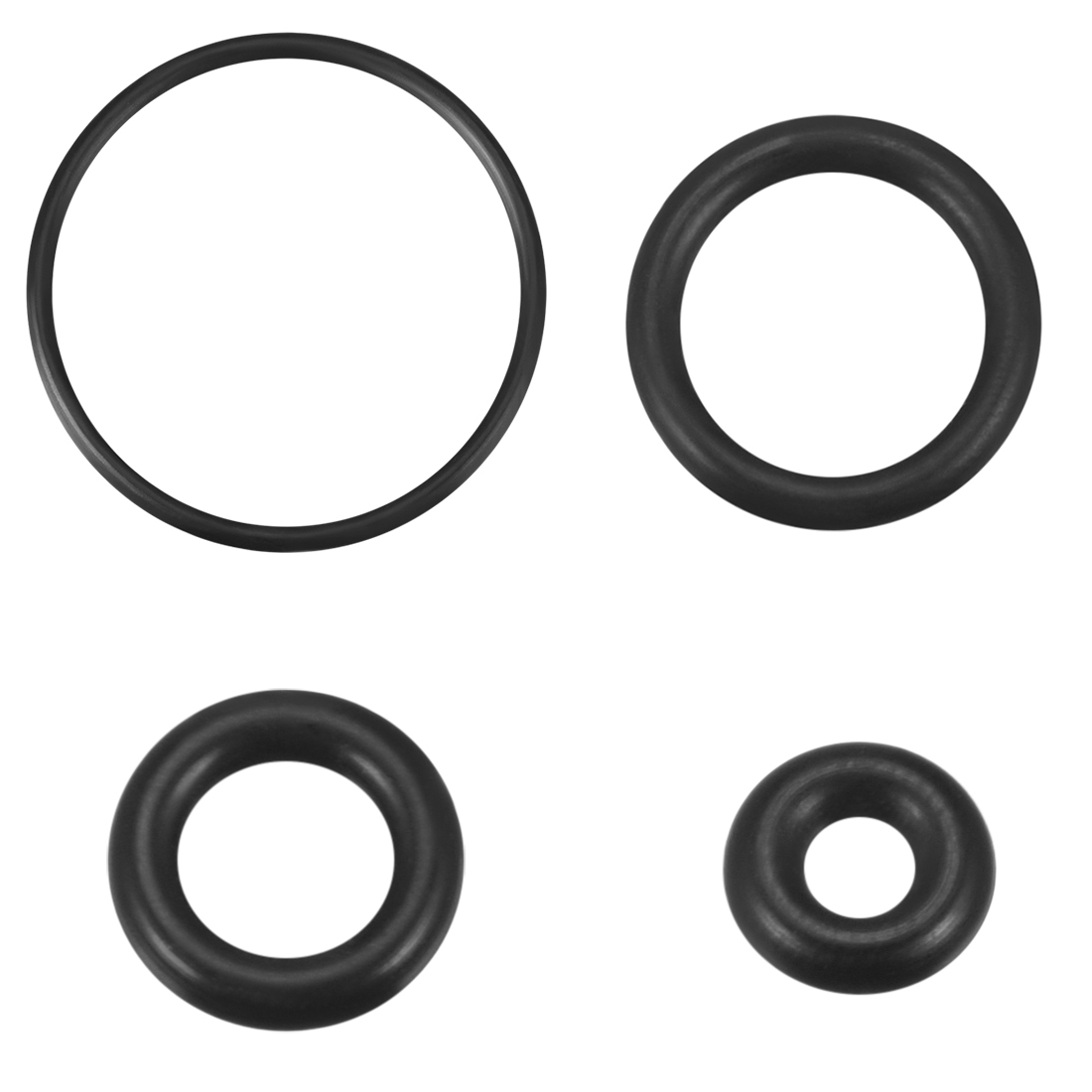 uxcell/® O-Rings Nitrile Rubber 2mm Width Pack of 50 7mm Inner Diameter Round Seal Gasket 11mm OD