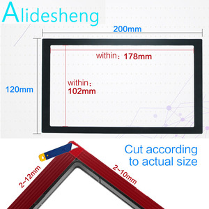 2 din Frame for car multimedia player double din auto accessories for 7'' inch car radio 2din MP5 Installation accessory 102mm(China)