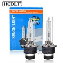 HCDLT High Bright Metal Base D2S 35W 55W D4S HID Xenon Replacement Lamp Bulb For Car Headlight Bulbs 6000K 4300K 5000K 8000K