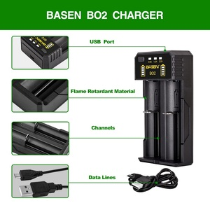 Image 5 - BASEN Lithium Battery Charger for 18650 26650 21700 10440 14500 16340 AA AAA Nickel NiMH Smart Charger For Rechargeable Battery