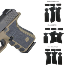 Arma Airsoft M4 AR 15 Accessories tactical rubber Grip Wrap Tape Glove for Glock Glock