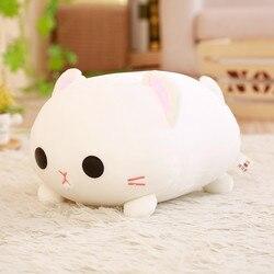 35/45cm Kawaii chat en peluche jouets en peluche mignon chat poupée belle Animal oreiller doux dessin animé jouets pour enfants filles cadeau de noël