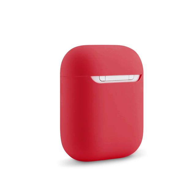 Kjoew Contenitore Silicone di Colore Solido Per AirPods Della Copertura di Caso Per Apple Auricolare Senza Fili Custodia protettiva Auricolare Auricolare Protettiva Caso 5