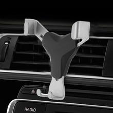 Universal Gravity Air Vent Mount GPS Stand Car Phone Holder Bracket Supplies For in Clip M