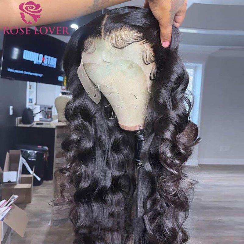 30 inch Lace Frontal Wig Body Wave Human Hair Wigs 13X4 Lace Frontal Wig 4x4 Closure Wig Baby Hair Brazilian Wigs For Women