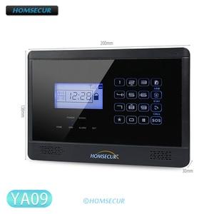 HOMSECUR DIY Alarm Panel/PIR Motion Sensor/Door Sensor/Remote Control Wireless Detector etc. for 433MHz YA09 GSM Alarm System(China)