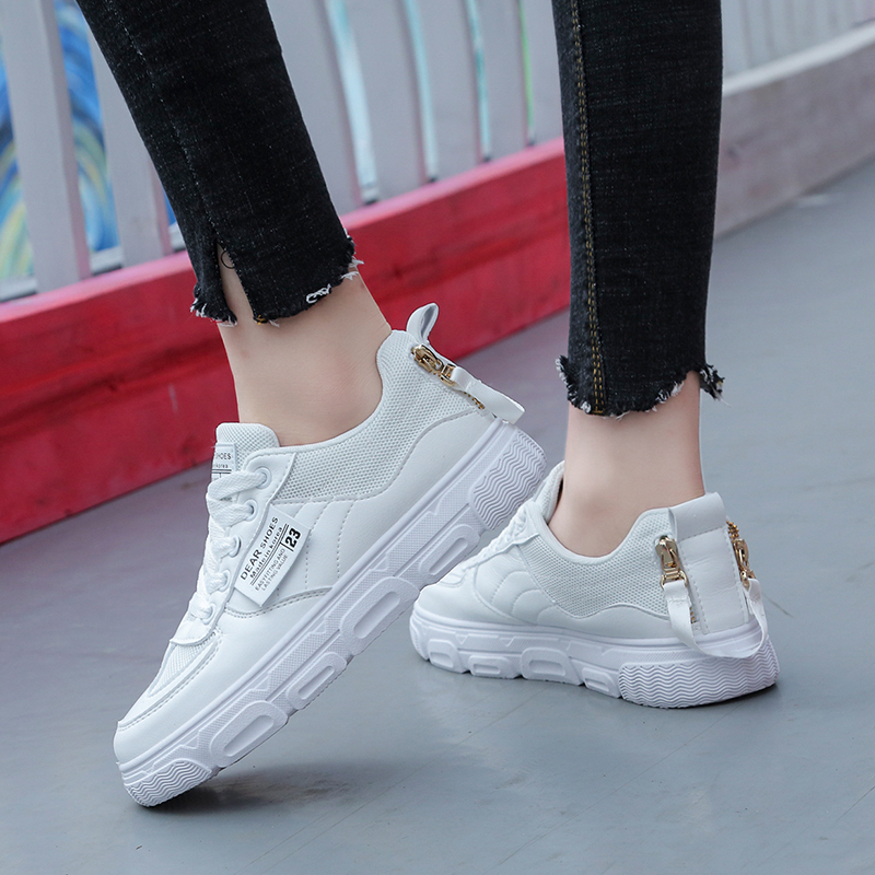 Damyuan 2020 New Fashion Sneakers Running Shoes Women's Casual Shoes Leather Casual Shoes Sport Breathable Non-slip Shoes