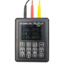 Fonte atual constante 0-20ma do calibrador do sinal do processo do gerador de sinal da precisão 4-20ma 0-10v