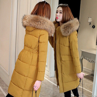 Women Parka Jacket 2019 Winter Ultra Light Duck Warm Female Coat Woman Outwear Hooded Long Sleeve Ladies Parkas Clothes
