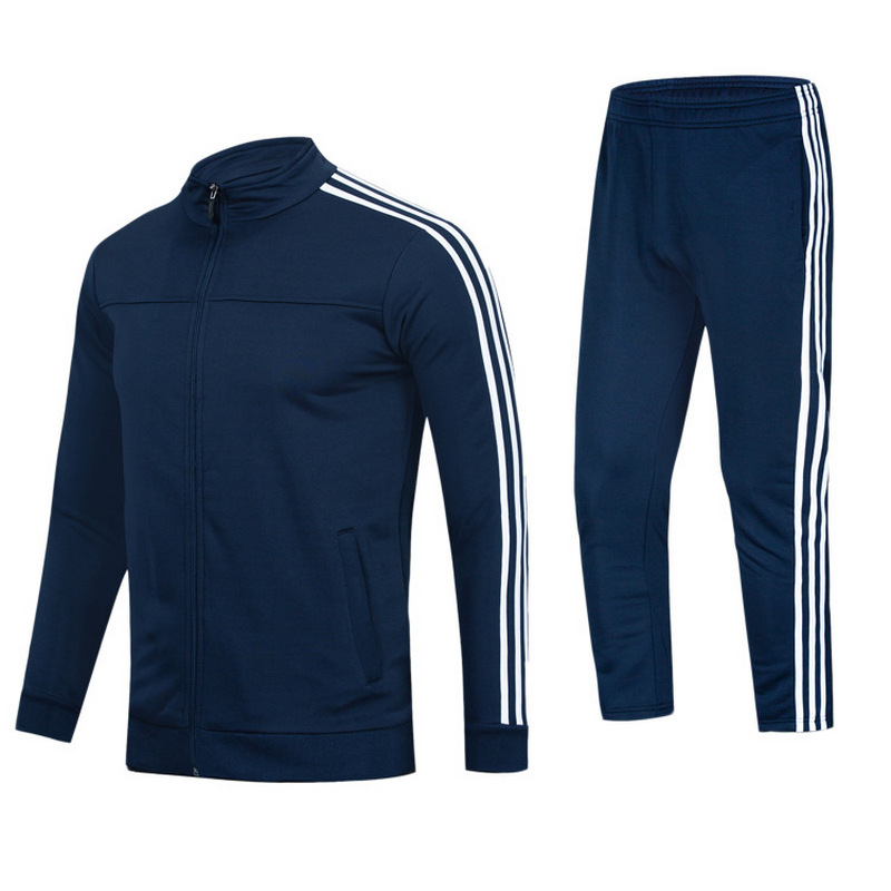 Quality Football Training Suit Trousers Track Pants And Track Jacket Set Men's Sportswear Casual Fashion Outdoor Sportswear