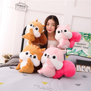 35cm 45cm Squirrel Plush Toy Cute Squirrel Soft Stuffed Toy Squirrel Soft Plush Gift High Quality Gift For Kids and LOVERS 1pc фото