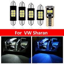 17 шт автомобилей Белый внутренний светодиодный светильник лампы