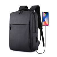 Multi function Computer Backpack Large Capacity Laptop Backpack Bag with External USB Charging Port|City Jogging Bags| |  -