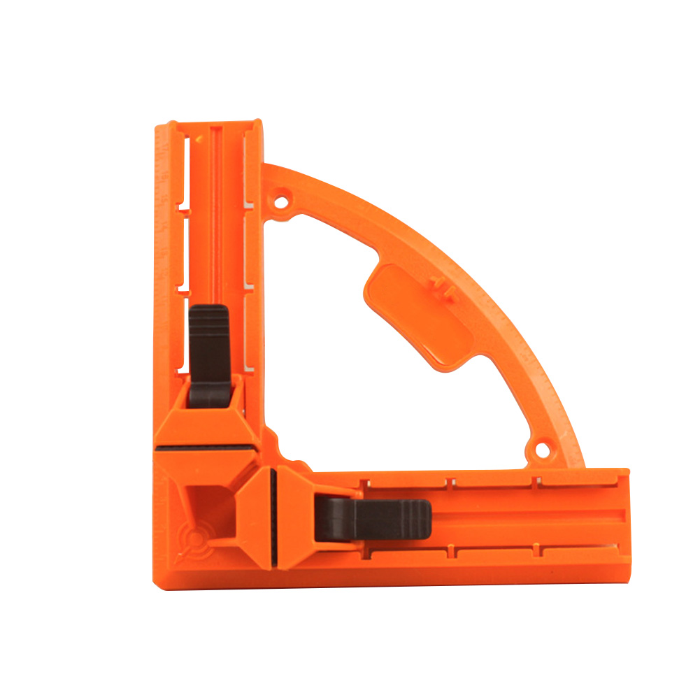 Aluminum Right Angle Clamp 90 Degree Plastic Picture Holder Woodwork Tools Mitre Fixed Rule Corner