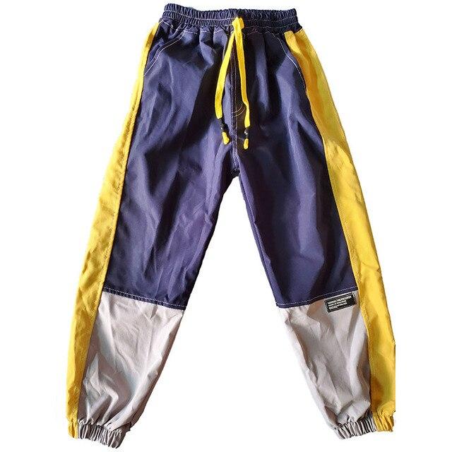 VFOCHI 2020 Boys Pants Winter Patchwork Pencil Pants 3-14T  Kids Trousers Teenager Boy Clothing Elastic Waist Boy Cargo Pants 5