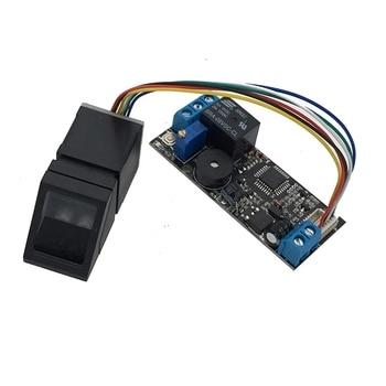 K202+R307 DC12V Low Power Consumption Fingerprint Control Board + R307 Fingerprint Module