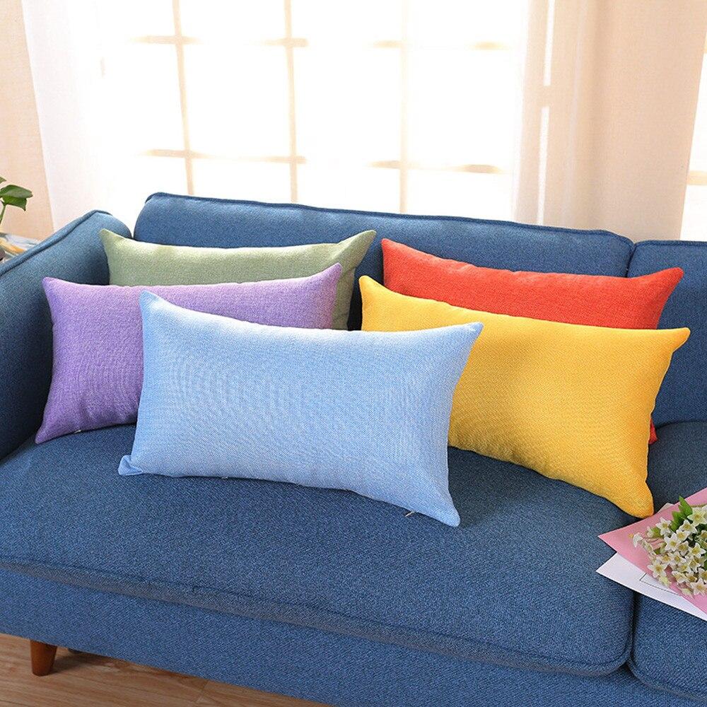 Наволочка 30x50 Прямоугольная подушка чехол для гостиной диван бархат пледы Наволочка украшения для дома чехол украшение дома Kussenhoes декоры|Подушки на кровать|   | АлиЭкспресс