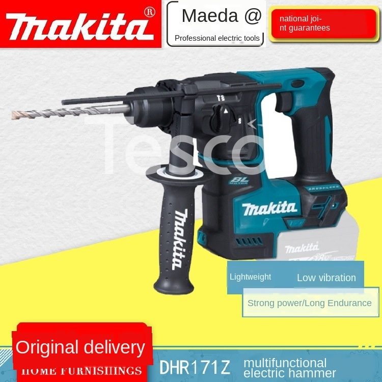 DHR171Z Charged Hammer Multifunctional 18V Lithium Brushless Light Secondary Impact Drill Industrial Grade