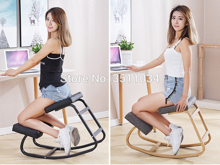 New Coming Ergonomically Designed Kneeling Chair For Adult Modern Office Computer Chair Ergonomic Posture Knee Chair Design