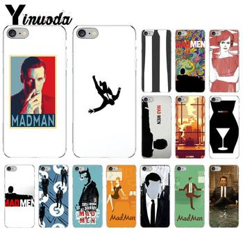 Yinuoda Mad Men Bling Cute Phone Case for iPhone 8 7 6 6S Plus X XS MAX 5 5S SE XR 11 11pro promax image