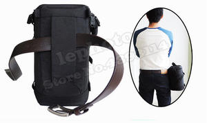 Image 5 - Thick strong Nylon Padded Camera Waterproof Lens Pouch Bag Protect Case  belt for Canon Nikon SONY Sigma Lenses