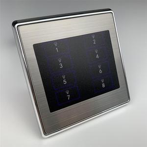 Image 5 - 8 갱 벽 토글 리셋 스위치 푸시 버튼 스마트 홈 오토메이션 용 순간 접촉 DIY