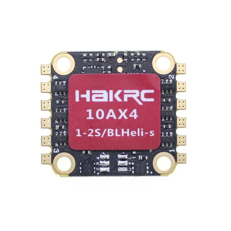 HAKRC 2S 10A 4 в 1 1-2S BLHeli_S/Dshot 600 ESC электронный контроллер скорости 16*16 мм для 90 мм RC гоночного дрона