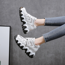 2020 New Arrivals Women Sneakers Fashion Shoes Shallow Casual Mesh Platform Chunky  Zapatos Mujer