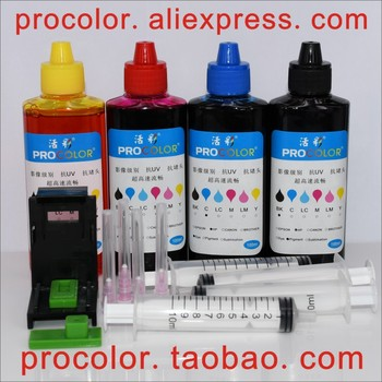 CISS refill ink cartridge Dye ink Refill kits for hp685 hp 655 670 685 Deskjet 3525 4615 4620 4625 5525 6520 6525 inkjet printer image
