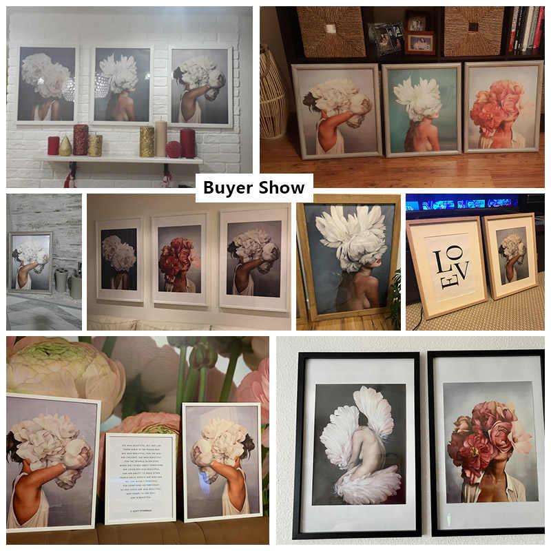 Wysokiej jakości abstrakcyjne obrazy na płótnie Wall Art wydruki plakat wystrój salonu dekoracyjne obrazy na ścianie Home Decor
