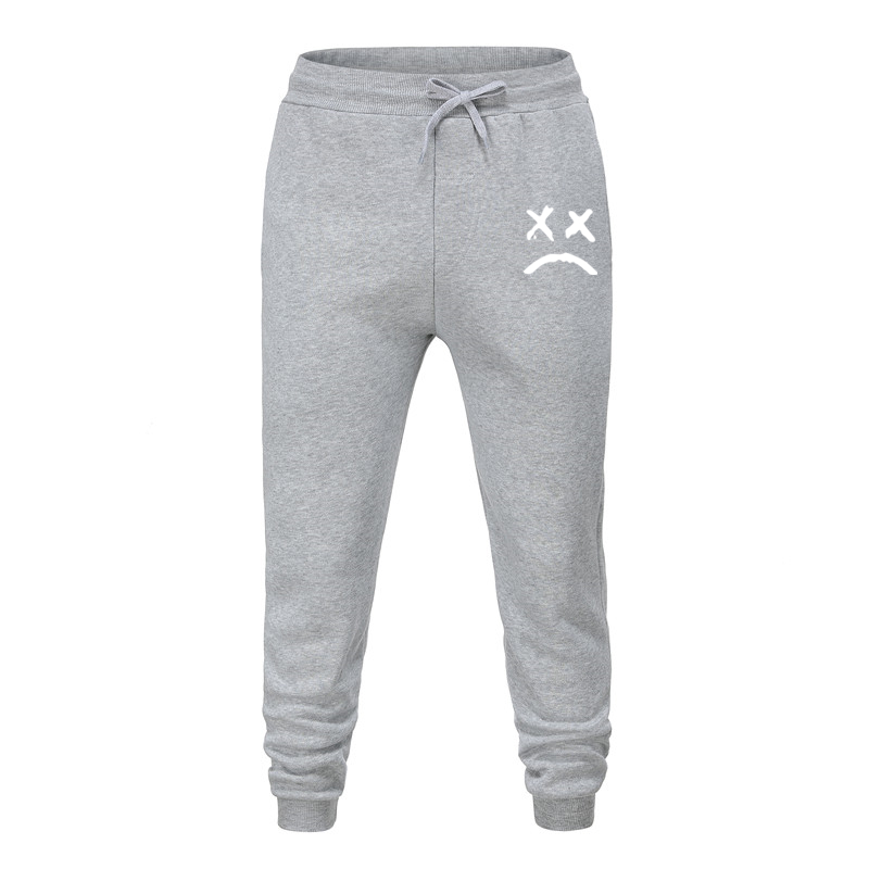2020 Men Casual Sweatpants Sportswear Joggers Pants Cotton New Male Gyms Trousers Pantalones Hombre Unhappy Want To Cry