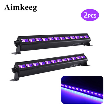 2PCS 12LED 36W UV Par מנורת DJ UV סגול שחור אורות UV מסיבת חג המולד בר אור מסיבת מועדון דיסקו אור קיר מכונת כביסה זרקור
