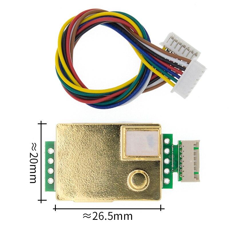 MH Z19 Infrared CO2 Sensor for CO2 Monitor MH-Z19B 5000PPM MH-Z19B NDIR Gas Sensor CO2 gas sensor MH-Z19 фото
