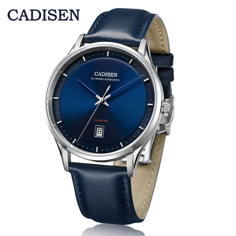 CADISEN 2020 New Men's Mechanical Watches For Men Luxury Automatic Watch Men Fashion Business Wristwatch Mens NH35A Reloj Hombre
