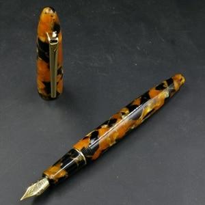 Image 1 - Пользовательские смолы авторучка чернильная ручка с #5 F Шмидт перо и Шмидт конвертер Канцтовары офисная школа