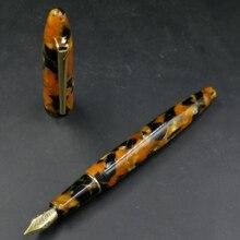 Stylo à encre stylo plume en résine sur mesure avec plume Schmidt #5 F et école de bureau de papeterie Schmidt convertisseur