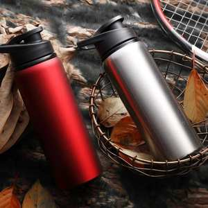 Travel Mug Bottle Vacuum-Cup Water-Thermo Coffee Stainless-Steel School 700ml -1107 Home-Tea