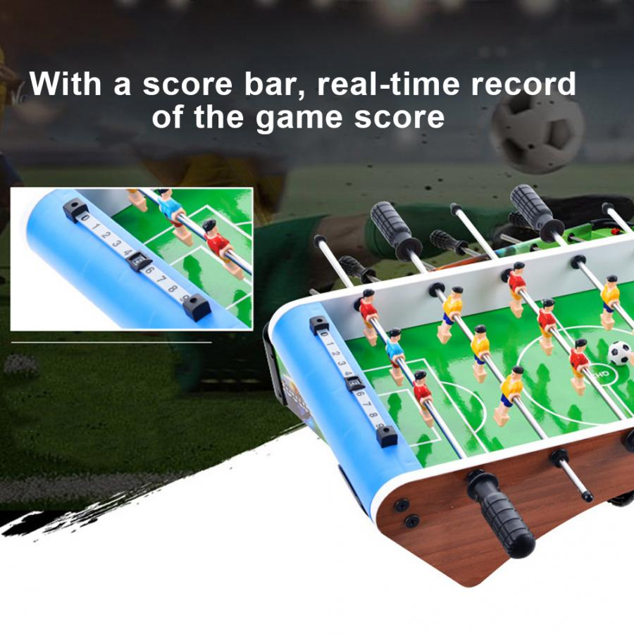 Table Football Soccer Game 6 Rods 13