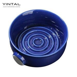 Image 5 - Cuenco de cerámica para crema de afeitar, taza de crema de afeitar húmeda, cuenco de jabón
