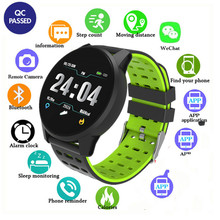 Waterproof Sports Smart Watch Men Women Heart Rate Monitor Blood Pressure Fitness Tracker Smartwatch GPS for Android Ios PK S9 smart watch men women blood pressure heart rate monitor fitness sports tracker smartwatch ip68 connect ios android pk dz09 q18