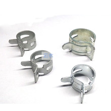 Spring-Clips Clamp Fuel-Hose-Line Air-Tube Water-Pipe 10pcs Fastener Hoops Galvanized