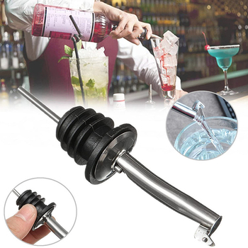 Stainless Steel Wine Bottle Stopper Pouring Device Wine Glass Cigarette Holder Whiskey Bar Service Device Kitchen Tool Home image