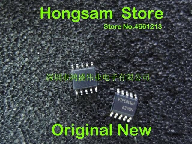 (10 PCS) (50 PCS) 100% original ใหม่ refurbish VIPER06HSTR VIPER06H SSO 10