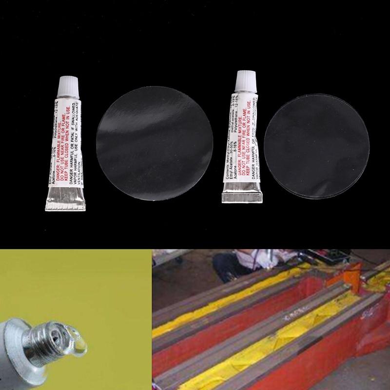 2Pcs/set Repair Glue Overhaul Patch + Glue Inflatable Bed Pool Boat Sofa Repair Glue Intex Repair Package Pool & Accessories