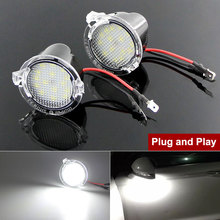 LED Under Side Mirror Puddle Light For Ford F 150 Fusion Edge Mondeo 5 S Max Taurus E X Flex Explorer Expedition Everest Raptor