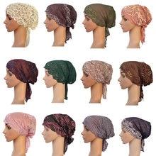 Новая женская мусульманская внутренняя шапка индийская шапочка