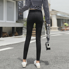 цены Jeans Pants New Autumn Female Skinny WOMEN Pencil Mid Casual Full Length 2020 Of Cultivate Ones Morality Show Thin Tight Bound