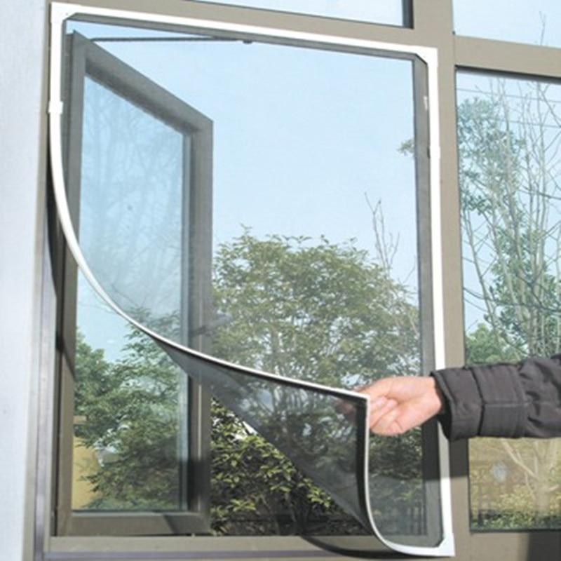Москитная сетка для окон, сетка для защиты от насекомых, насекомых, москитная сетка для дверей и окон, противомоскитная сетка для кухни и око...